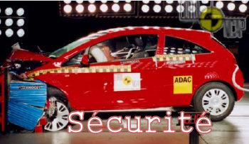 Compte-rendu commenté des résultats de crash-tests Euroncap de la nouvelle Opel Corsa. Pour résumer, sa sécurité passive est de haut niveau avec 5 étoiles, plus de bons résultats en chocs piétons et protection des enfants..