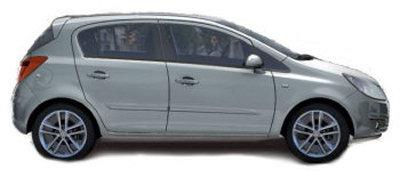 Présentation du design extérieur de la nouvelle Opel Corsa, dans sa version 5 portes..